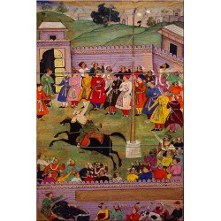 Archery Competition-Mughal, India